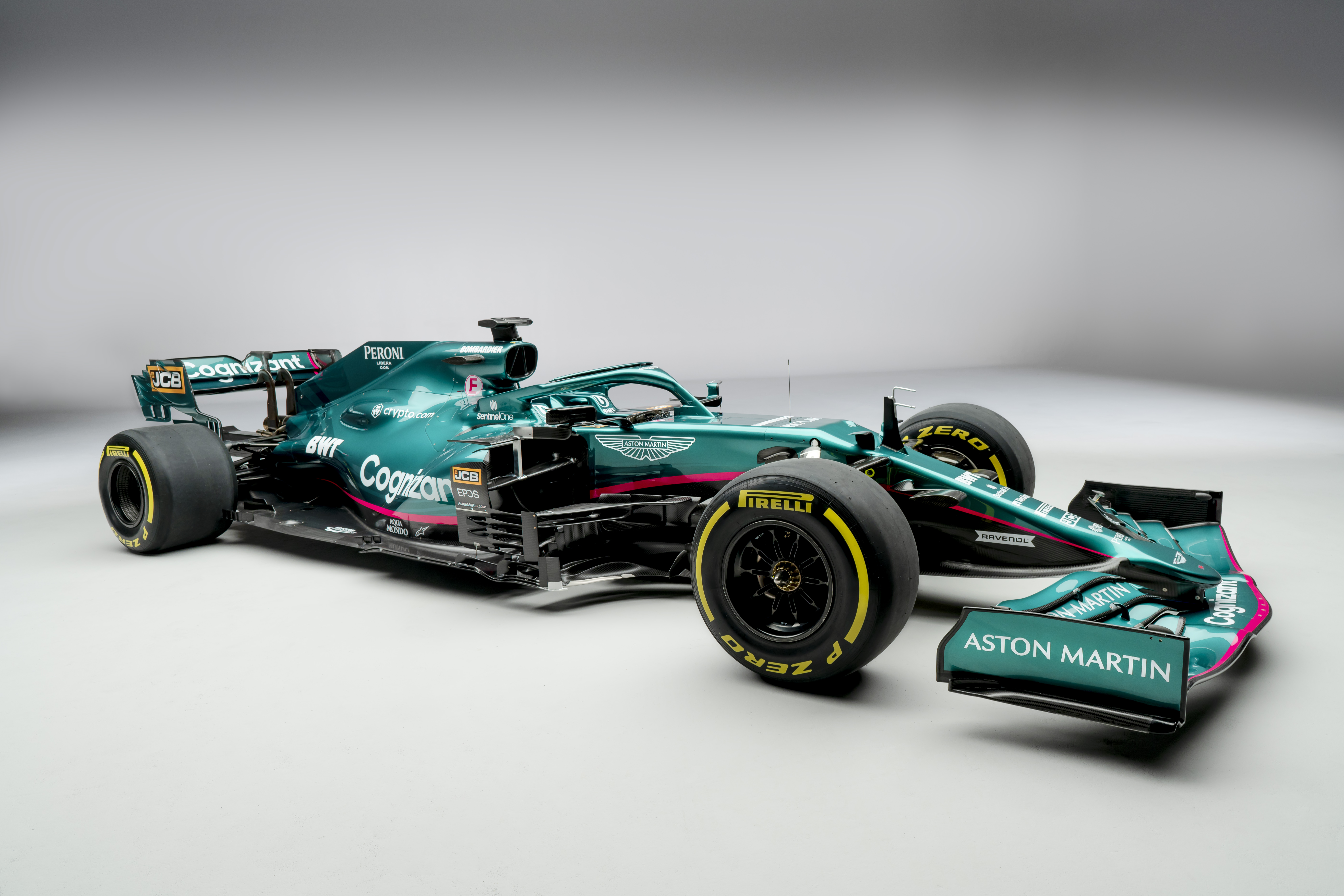 F1 2021 – Aston Martin présente la nouvelle AMR21 (en images)