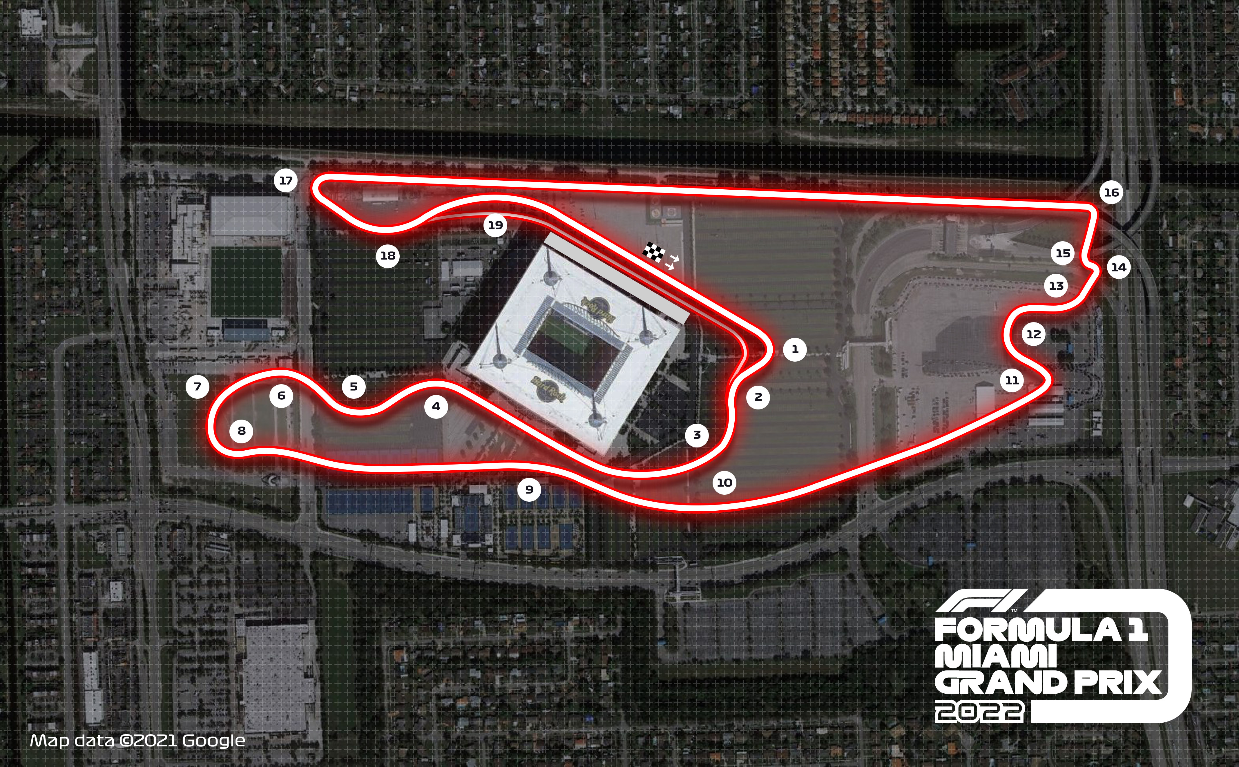 La Formule 1 roulera à Miami en 2022