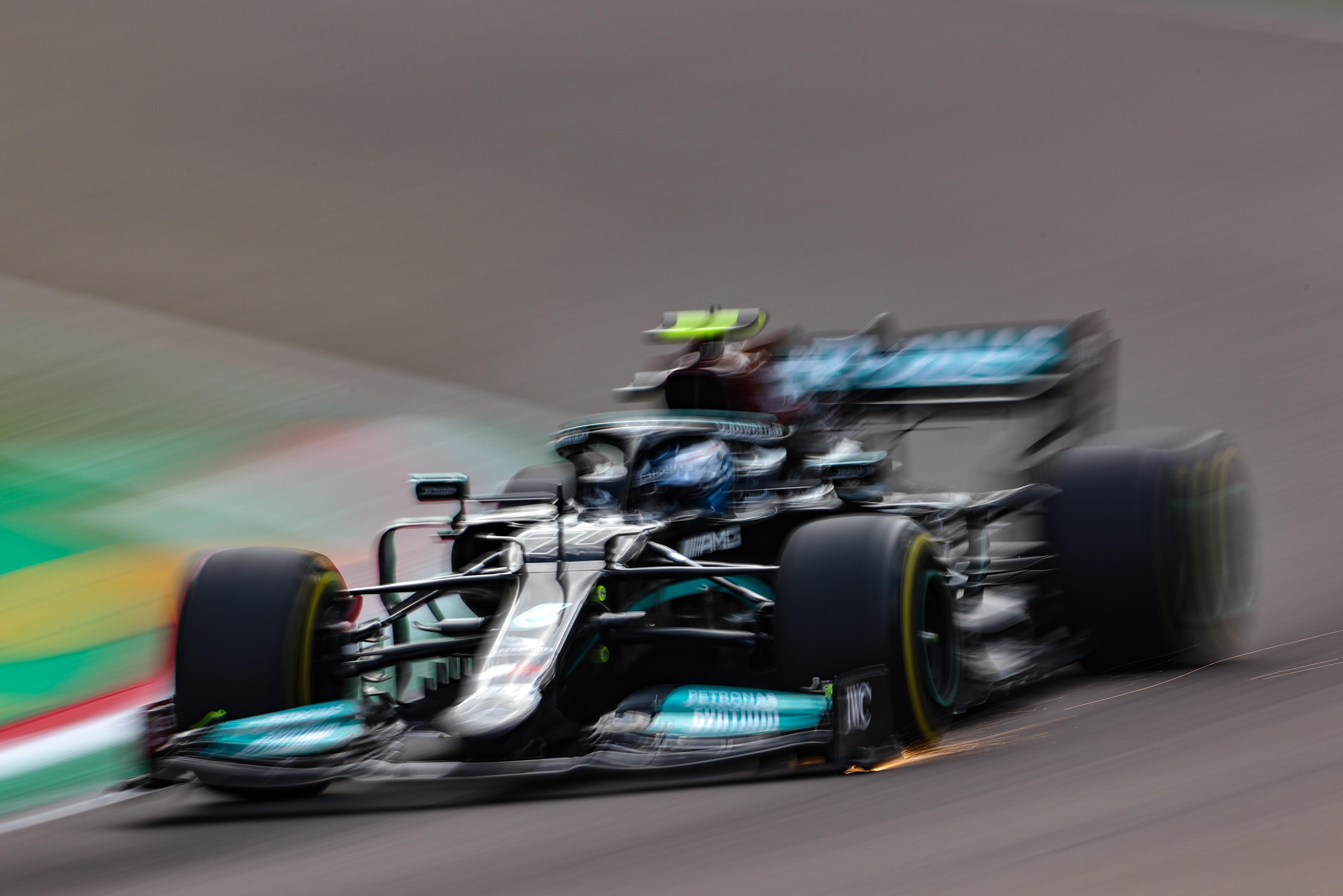 F1 2021 – GP d'Emilie-Romagne (EL2) : Bottas le plus rapide, Leclerc dans le mur !