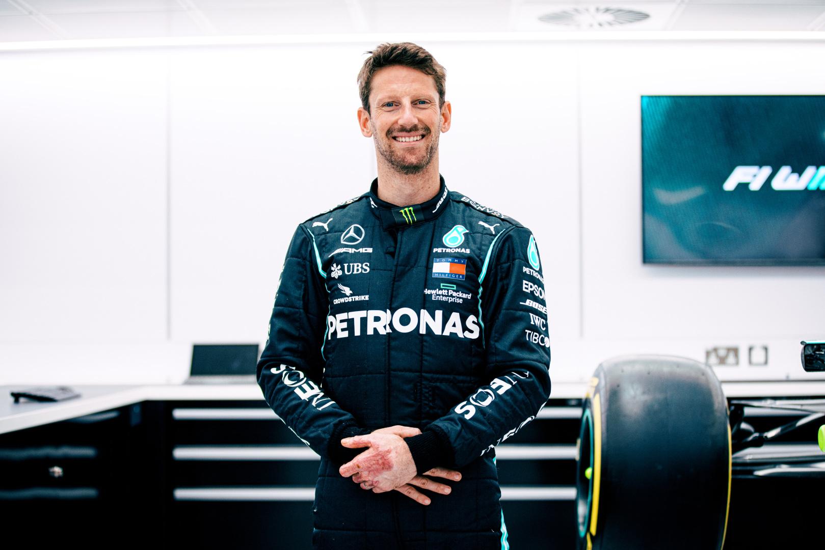 F1 – Romain Grosjean pilotera une Mercedes au GP de France !