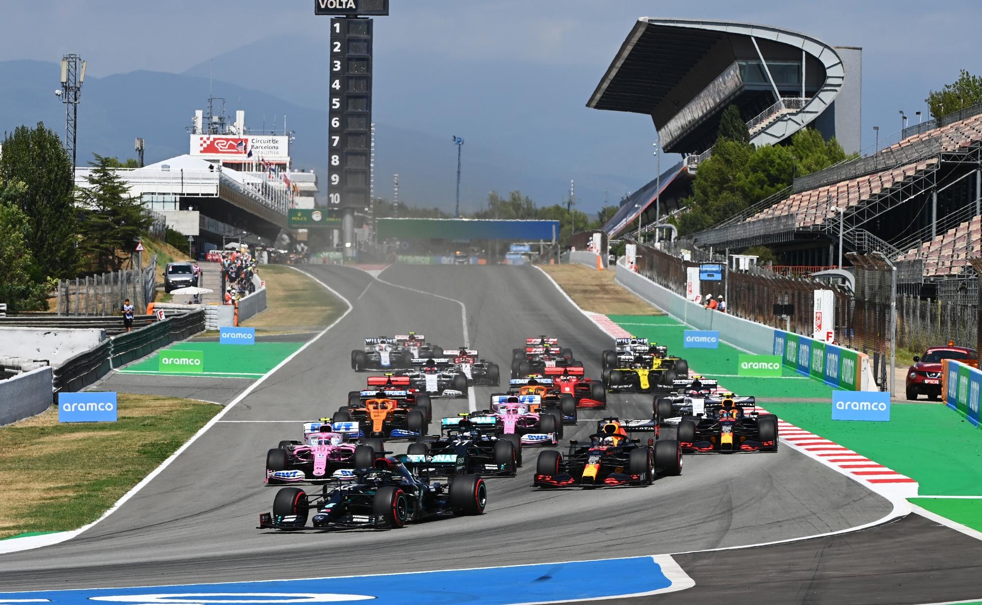 F1 – GP d'Espagne : votre programme TV du week-end