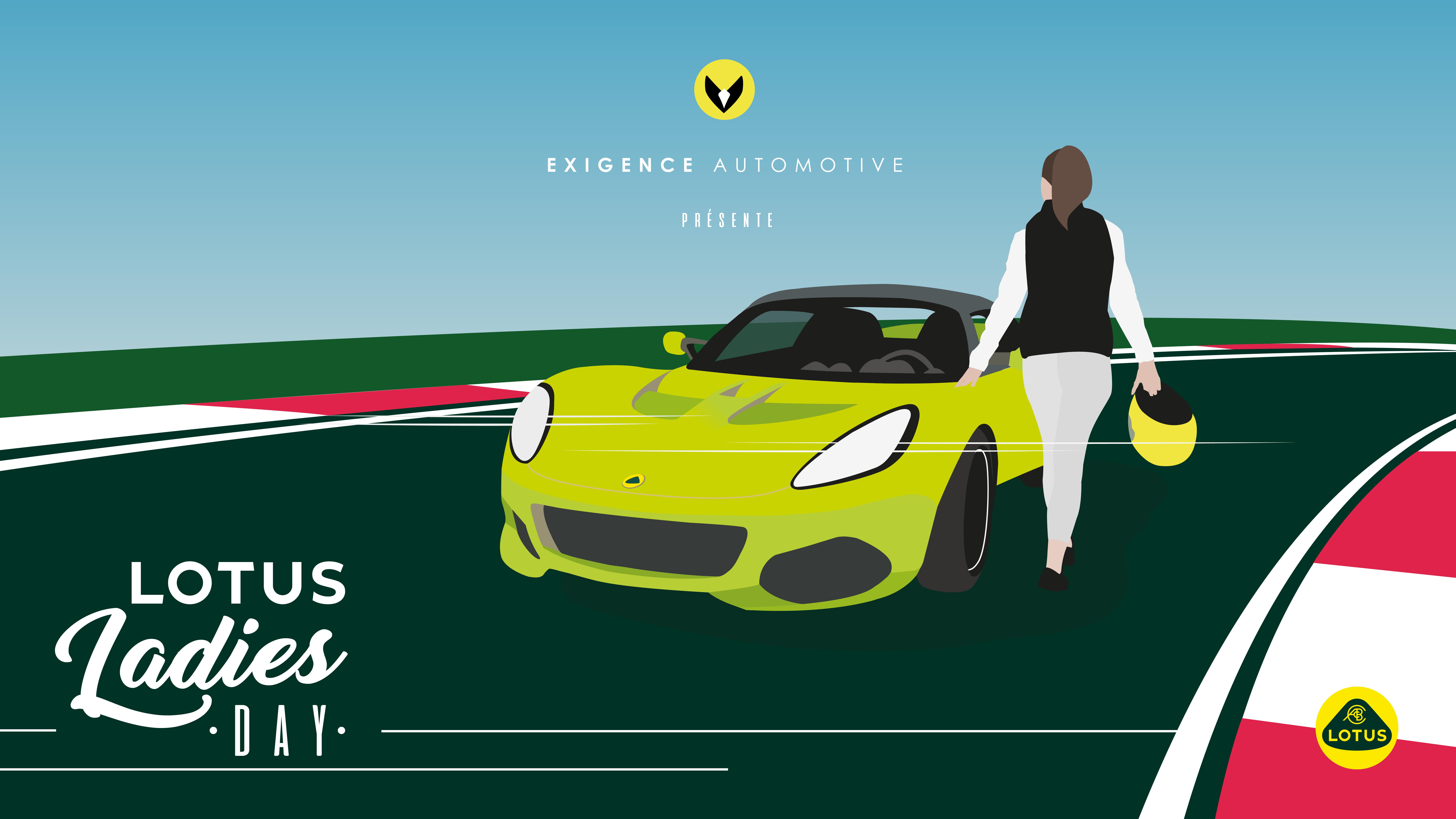 """""""Ladies Lotus Day"""" 2021 : un track day 100% féminin en Lotus à Magny-Cours !"""