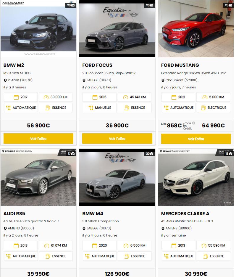 Sport Auto Occasion : acheter votre supercar d'occasion