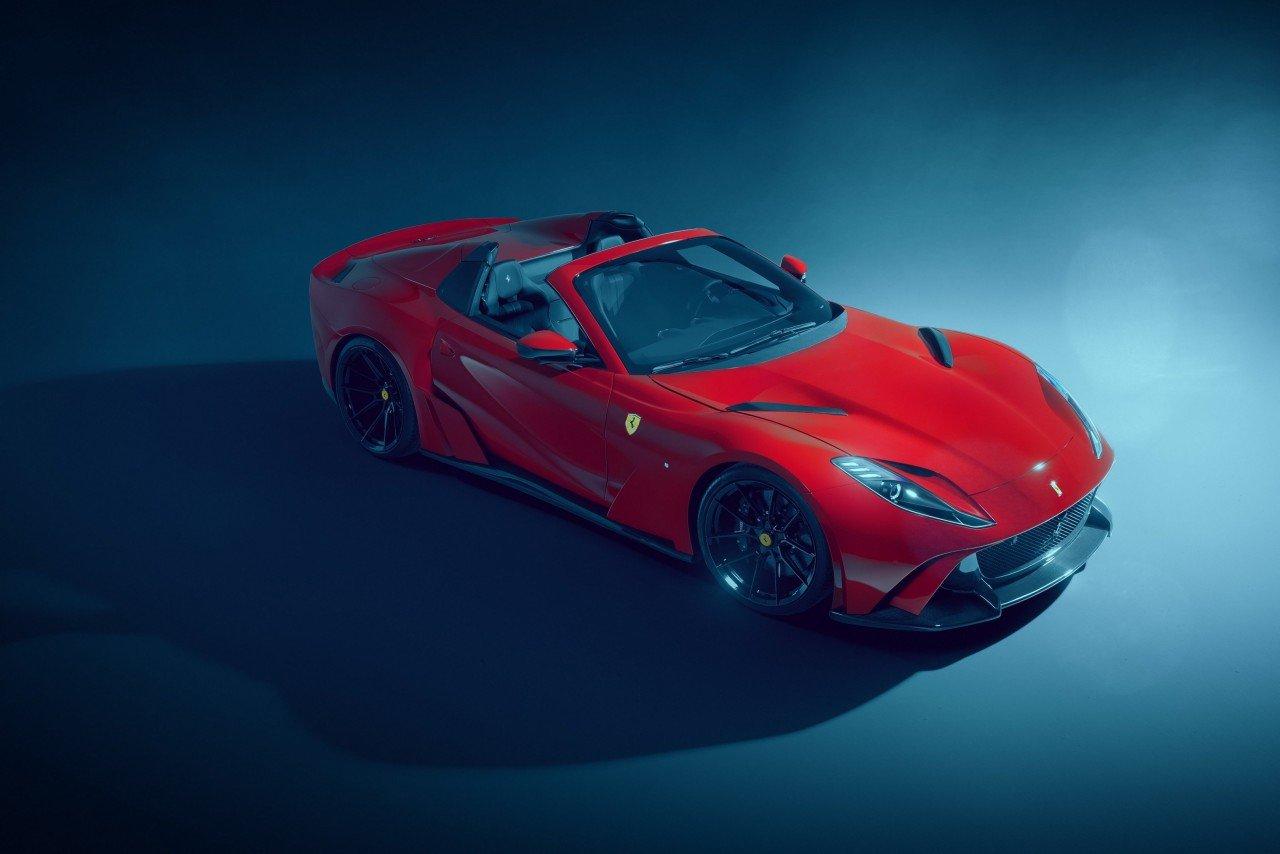 Ferrari 812 GTS Novitec : écoutez son V12 de 840 ch rugir en montagne ! (+ vidéo)