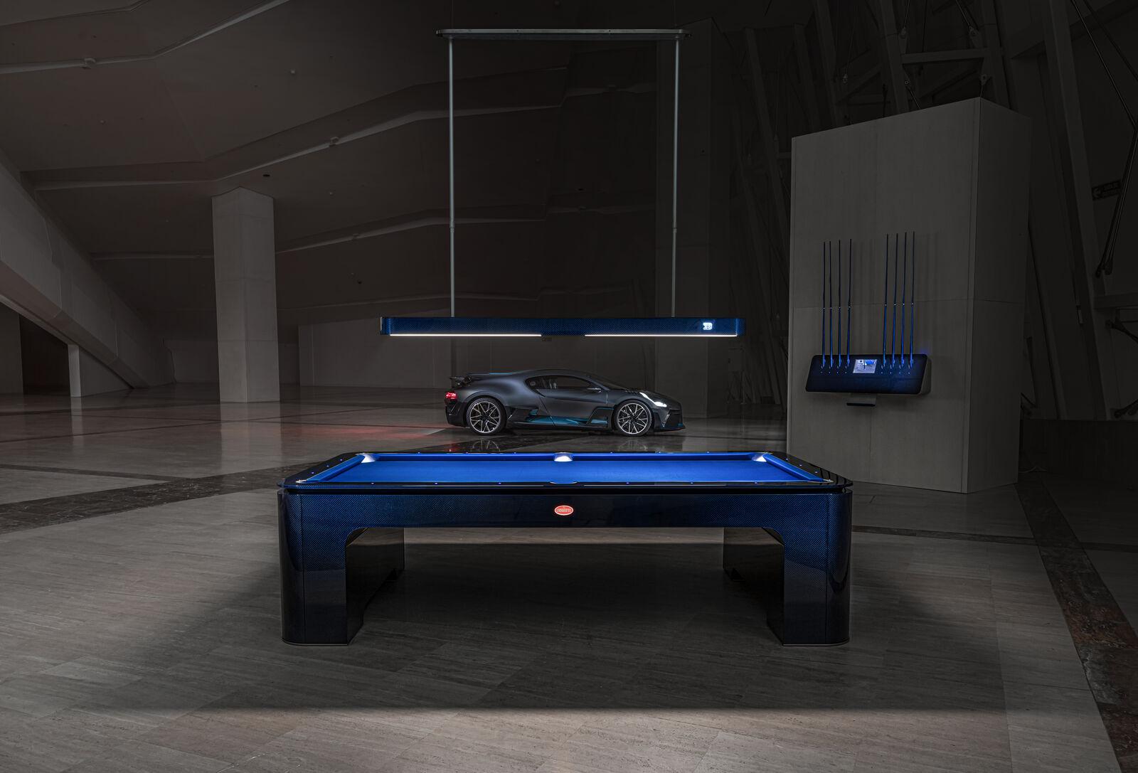 Bugatti : voici le premier de ses 30 billards à 250 000 €