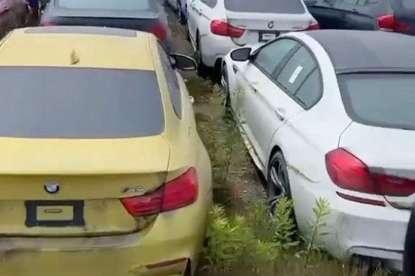 Insolite : 3000 BMW et Mini à l'abandon depuis 6 ans !
