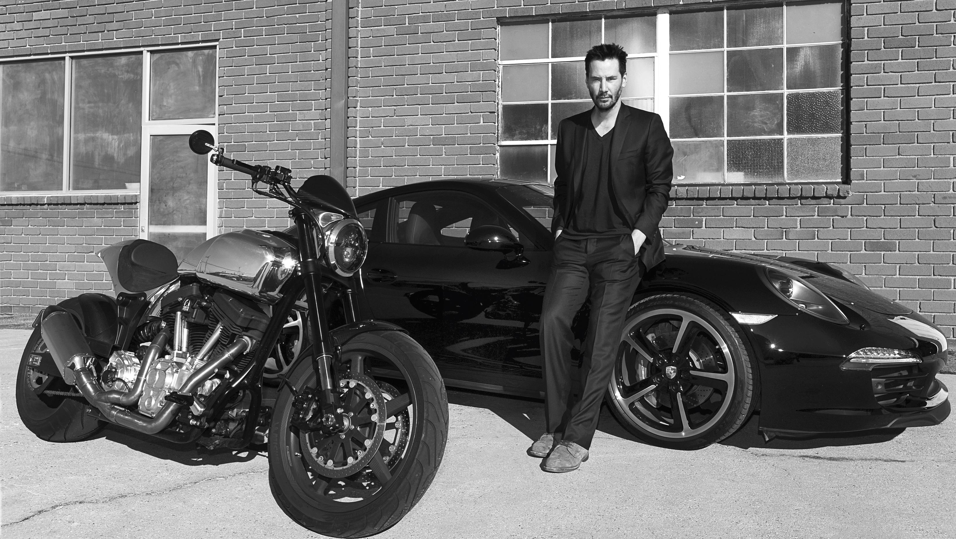 Keanu Reeves : dans le garage de la star de «Matrix» et «John Wick» (en images)