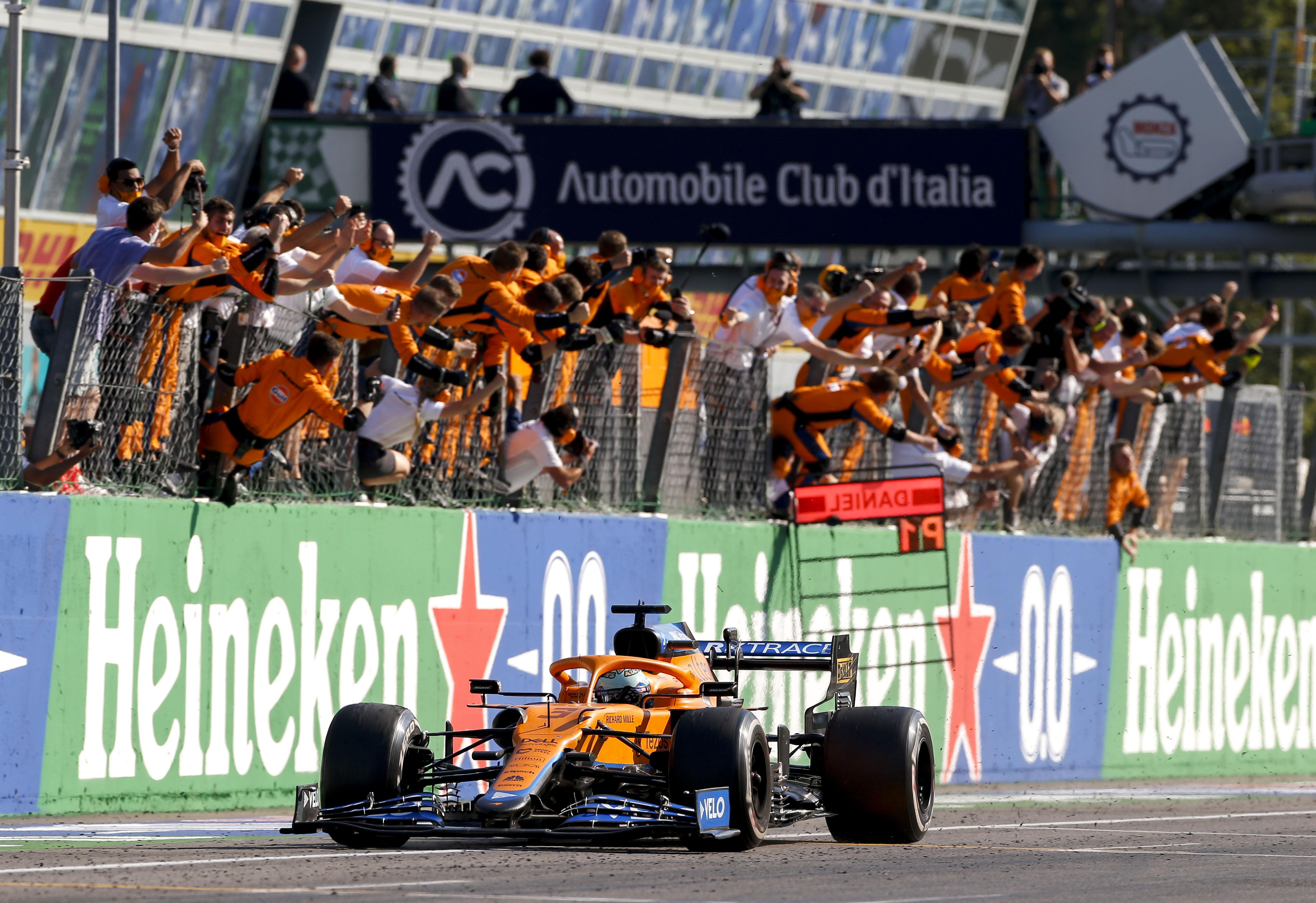 F1 – GP d'Italie : Ricciardo vainqueur, Hamilton et Verstappen dans le bac